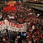 Movilizaciones contra Temer están en punto alto