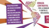 Lanzamiento de la Jornada Continental por la Democracia y Contra el Neoliberalismo