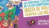 #25N: ¡La Vía Campesina dice no más violencia, no más silencio!