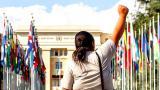 La Vía Campesina apoya movilización en la ONU a favor de un Tratado Vinculante para desmantelar el poder corporativo